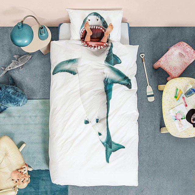 Shark blanket set