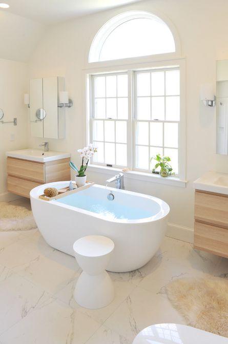 par de tocadores de baño modernos