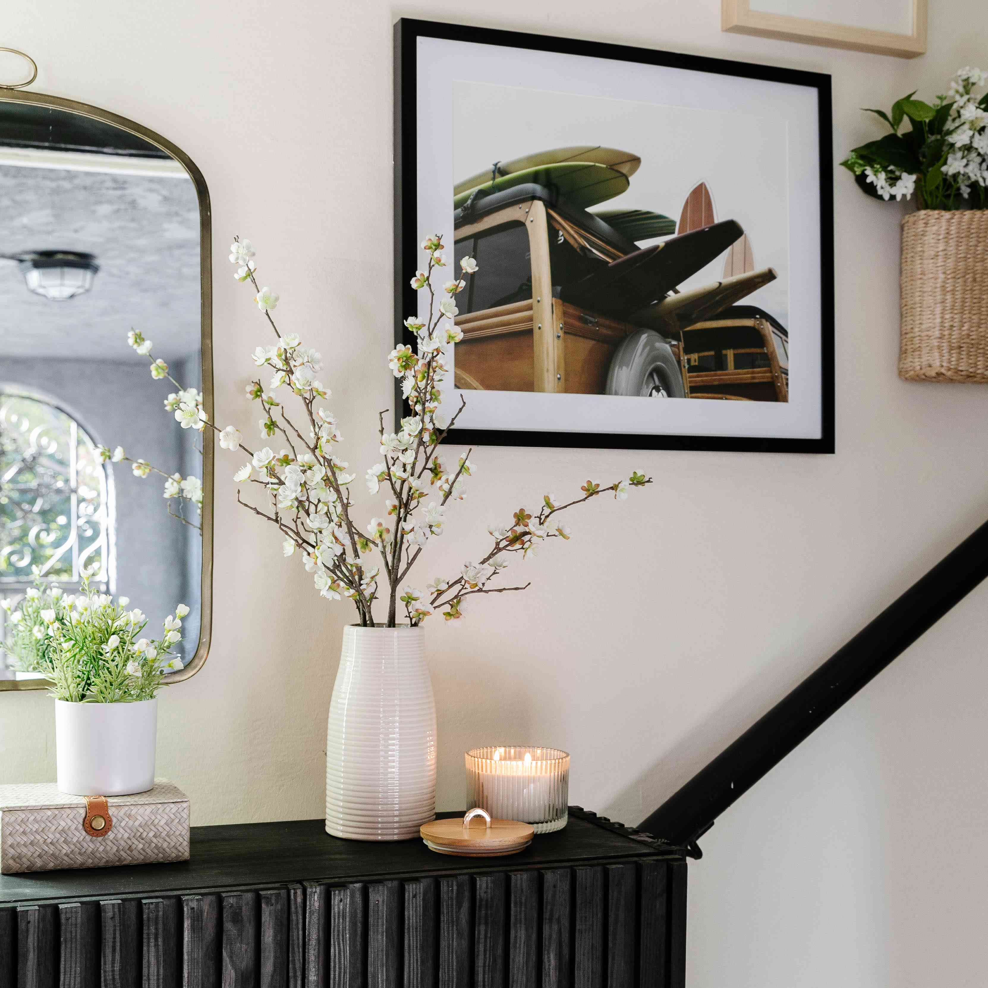 decorative accents in the home of Drew Scott, the Lone Fox