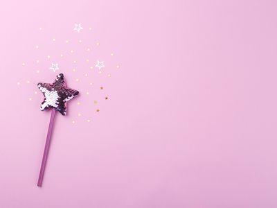 Sparkling magic wand