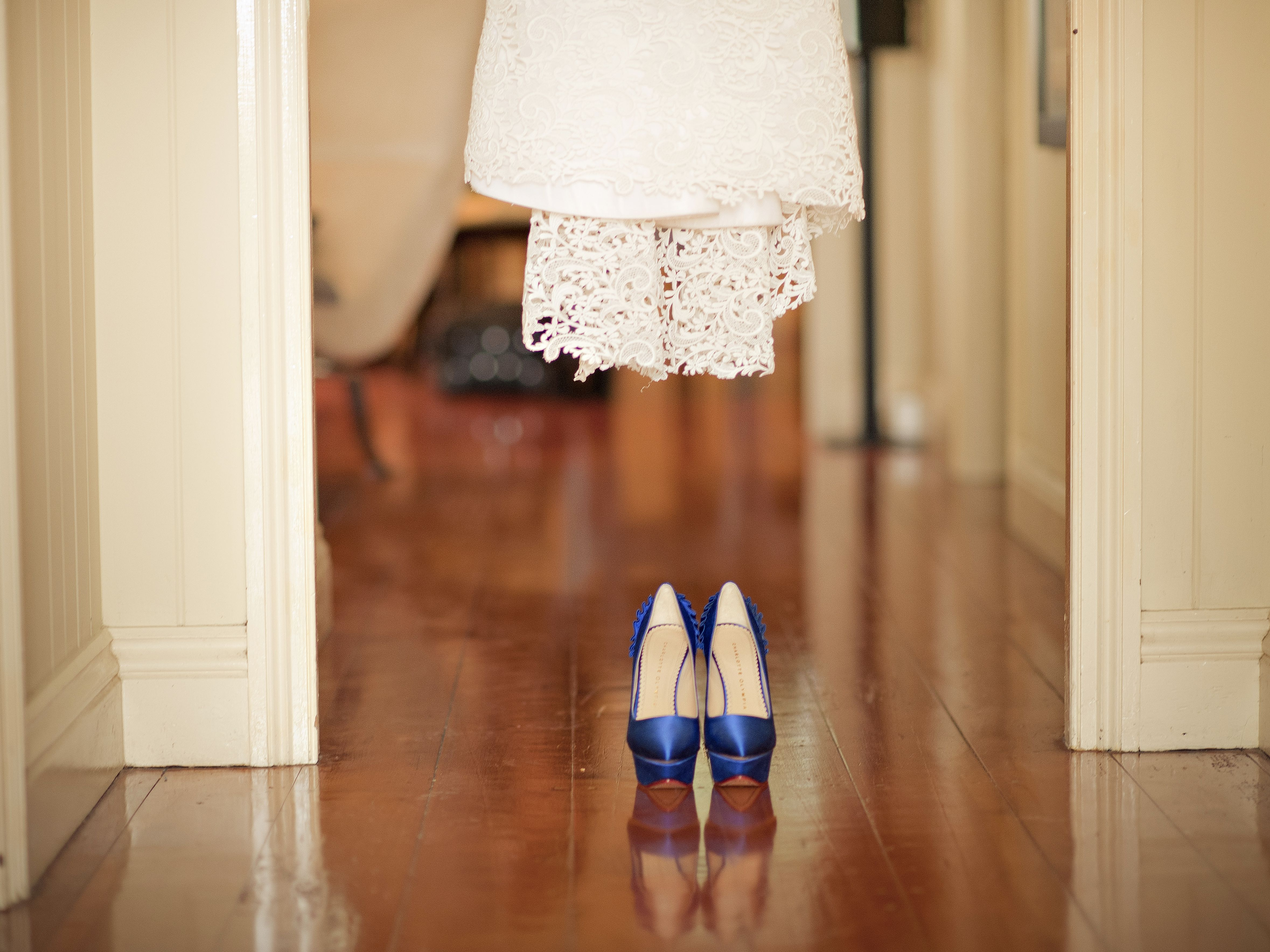 Change The Old New Borrowed Blue Wedding Tradition