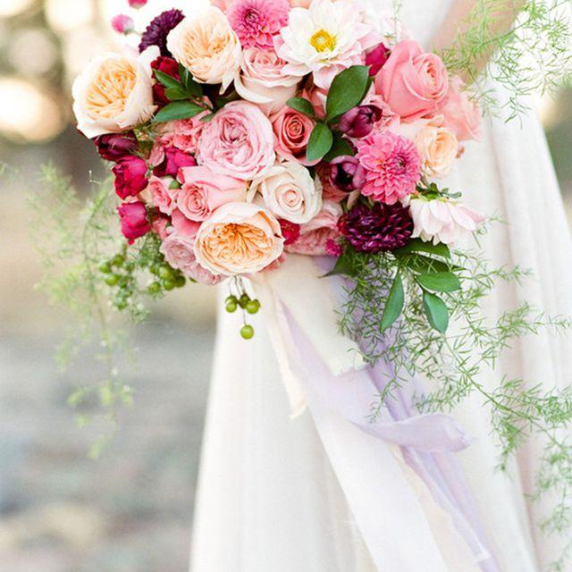 Rose Summer Wedding Bouquet