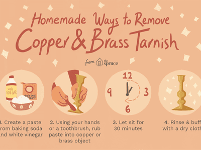 DIY Copper and Brass Tarnish Remover
