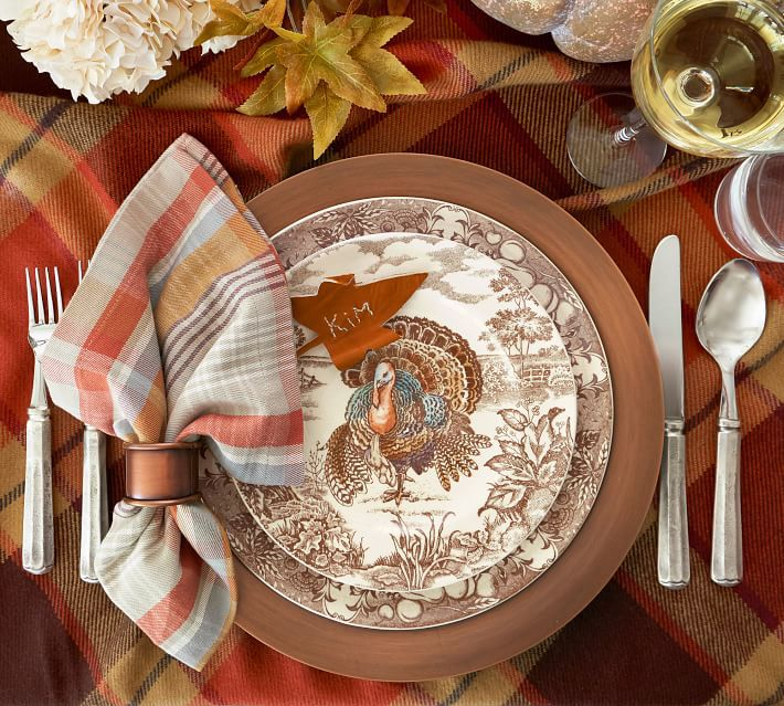 pottery-barn-turkey-dinner-plate-set