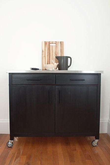 DIY Kitchen Storage Storage Cart