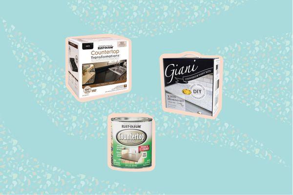 DIY Countertop Refinishing Kits