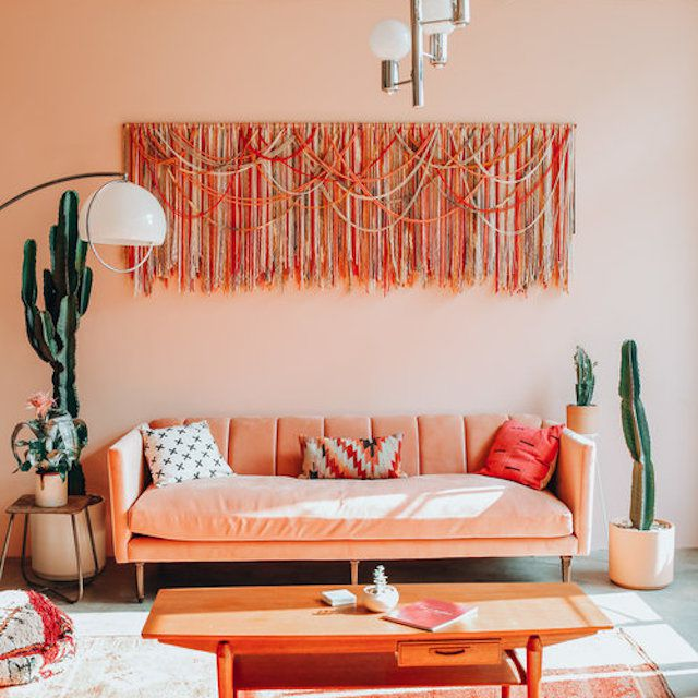 Eclectic living room lighting by Dazey Den