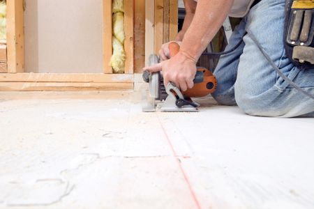 Do Basement Subfloor Systems Work - Dry barrier subfloor