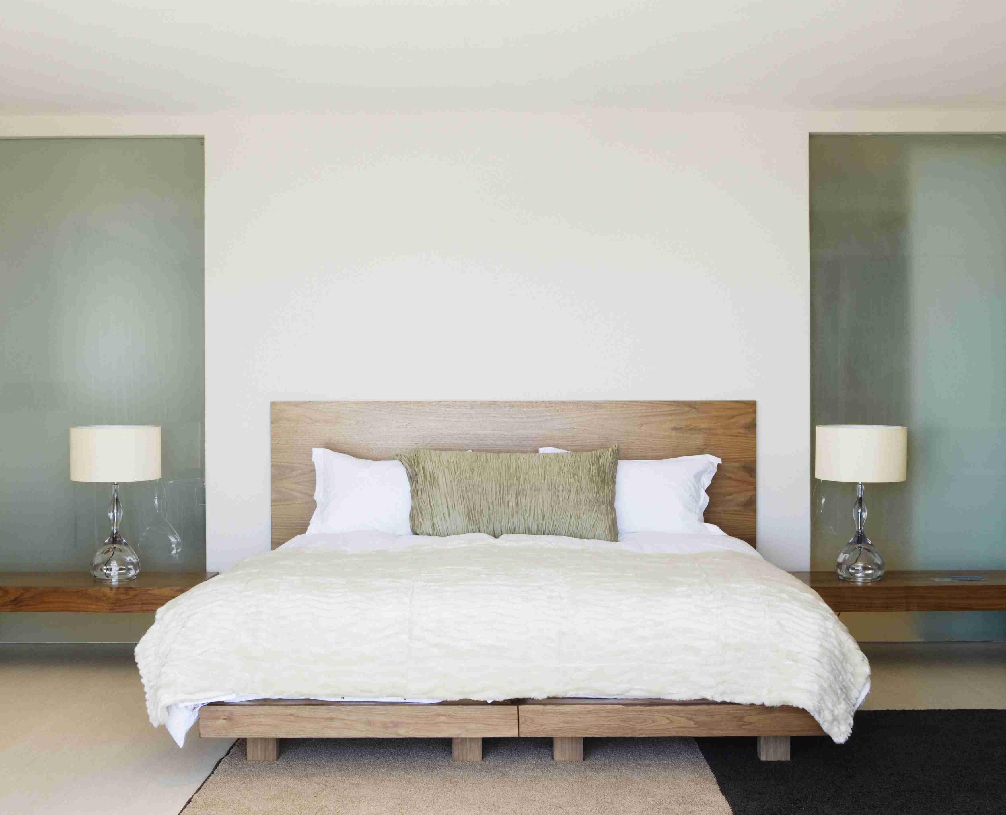 Una habitación contemporánea encantadora y serena