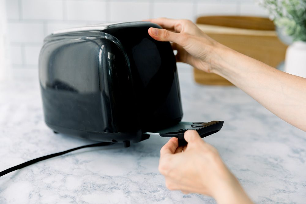 reassembling the toaster