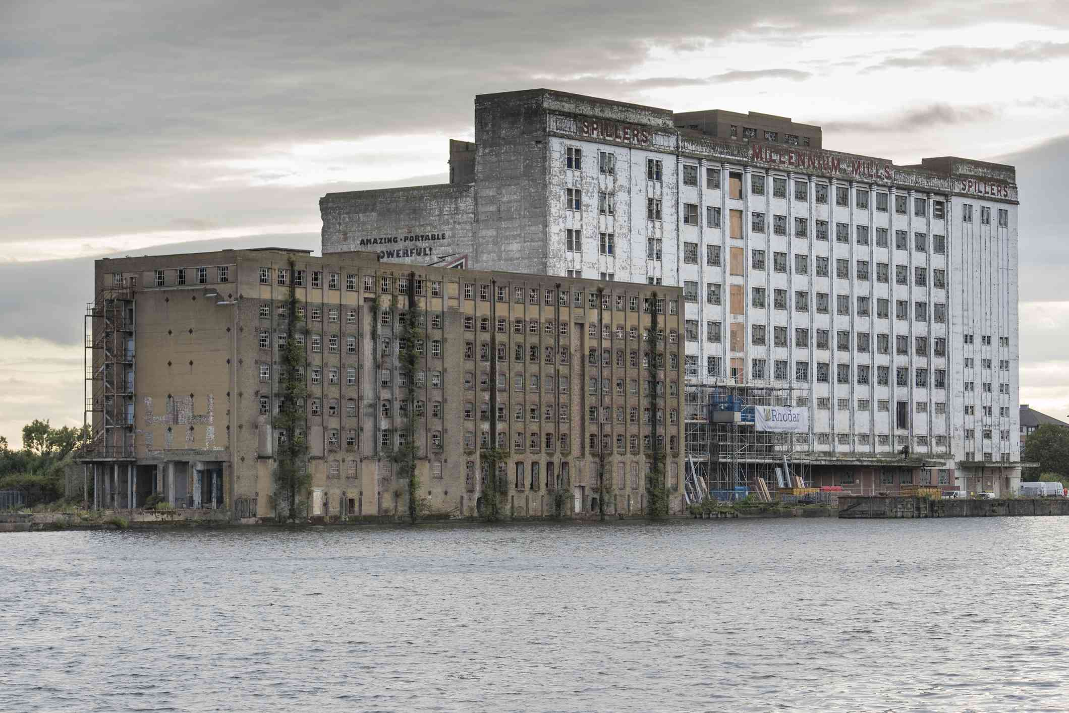 Derelict warehouse in London