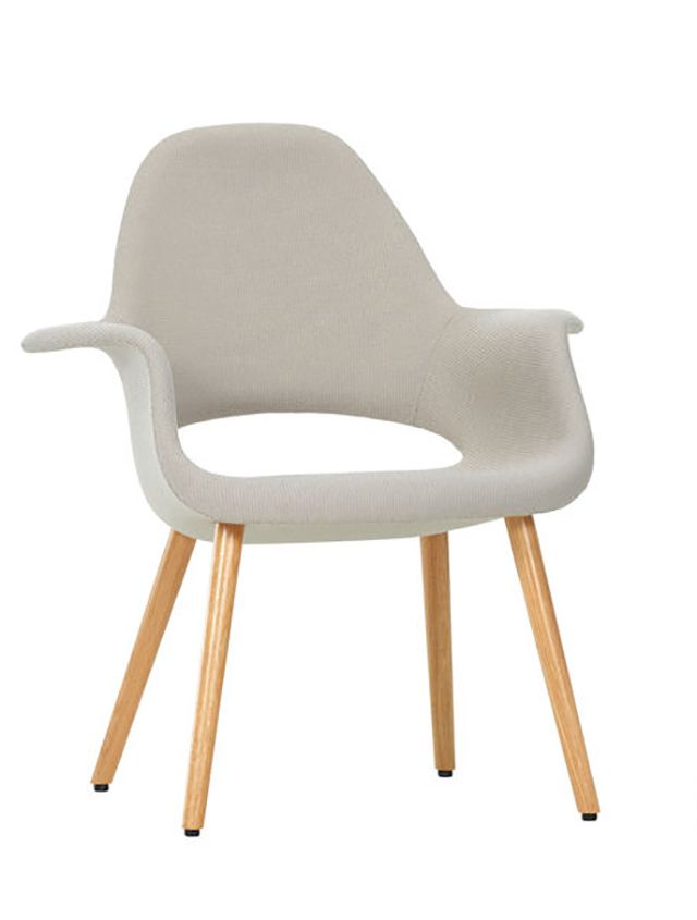 The Organic Chair Designed By Eero Saarinen And Charles Eames Photo Courtesy Of Vitra Com