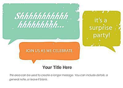 Free birthday invitations online a surprise birthday invite in green and orange filmwisefo
