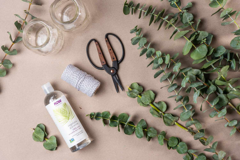 materials for preserving eucalyptus