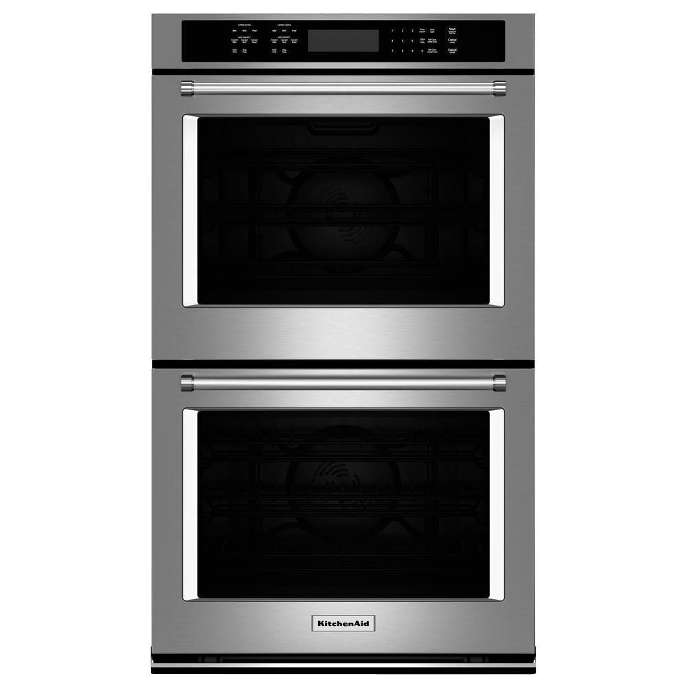 Best For New Convection Cooks Kitchenaid 30 Double Electric Wall Oven