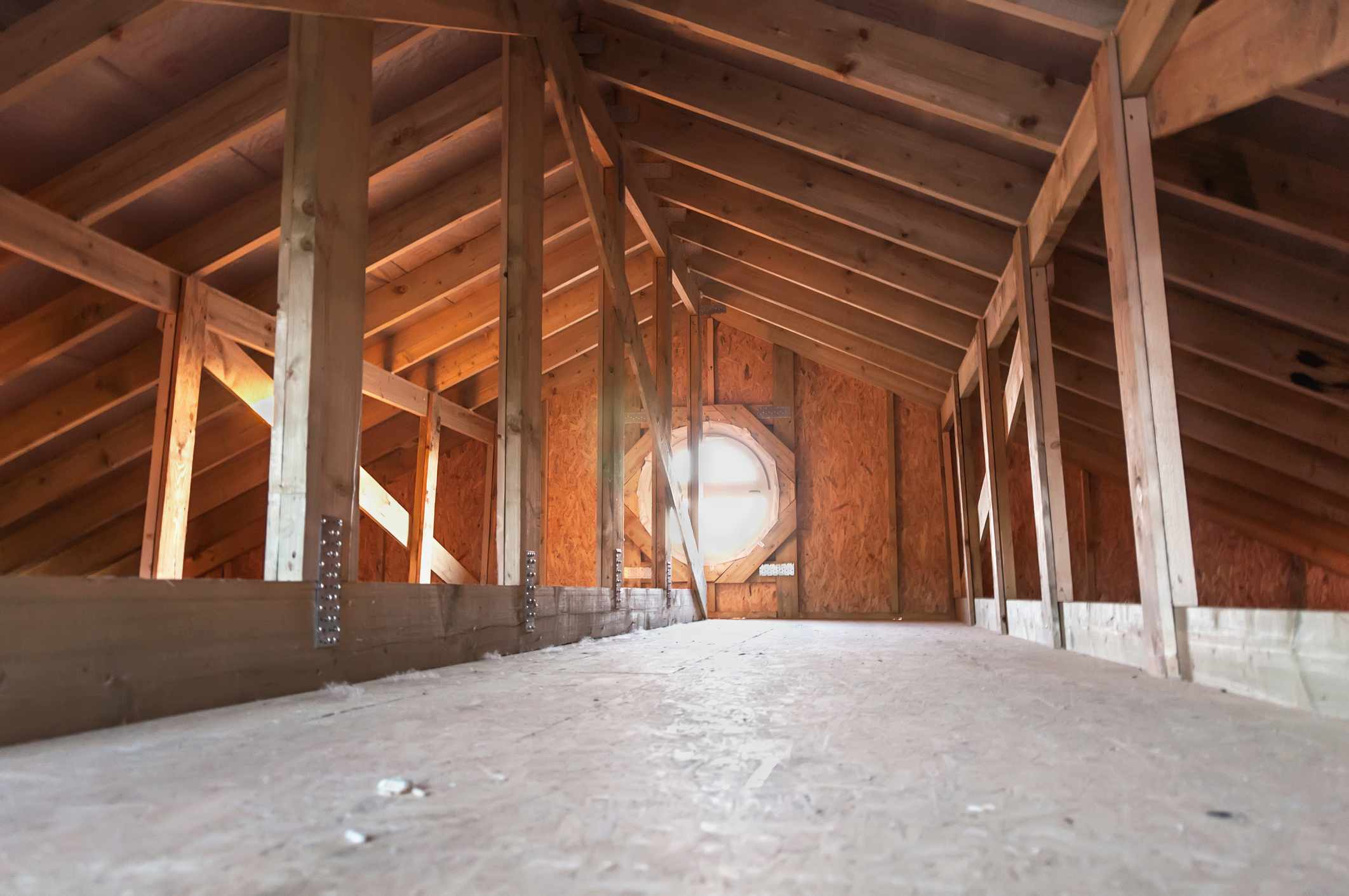 Attic rafter