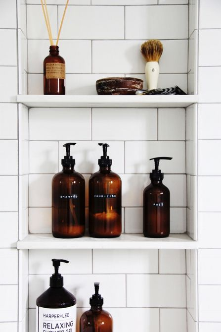 botellas de champú para bricolaje