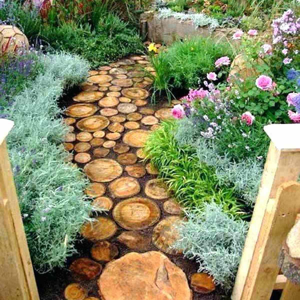 Log Garden Path