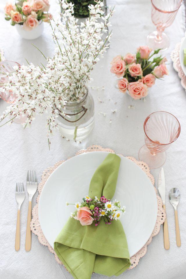 20 Gorgeous Spring Table Setting Ideas