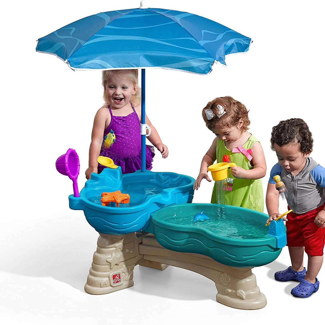 Children Water Table Outdoor Toy Play Set for Kids Baby Activity Table