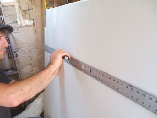 Easy Way To Cut Big Drywall Sheets In 30 Seconds