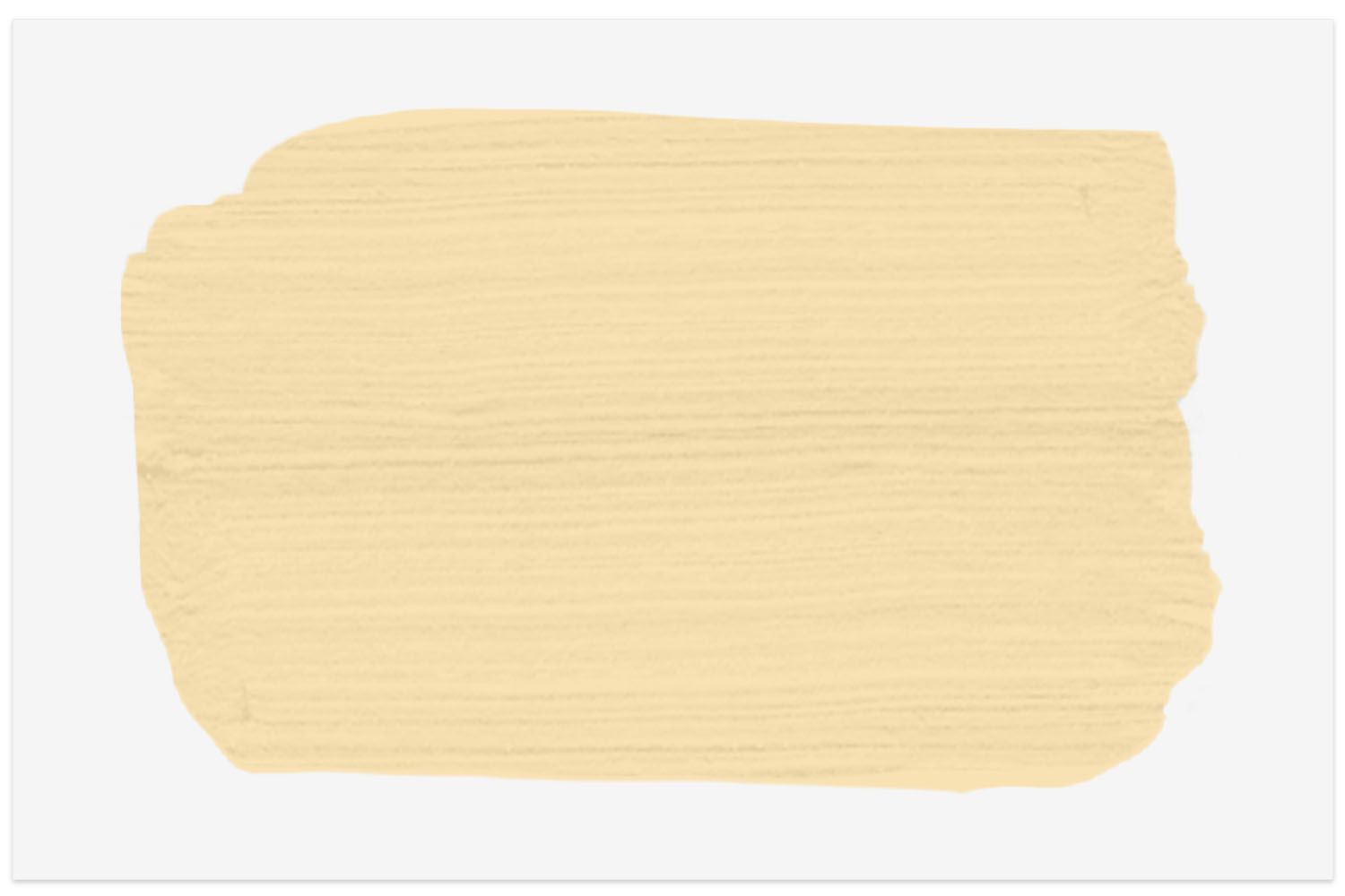 The Spruce paint swatch color in Sundream