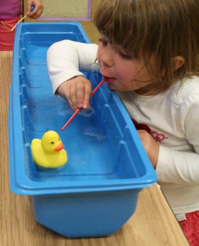 Blow The Duck Down The River Kids' Party Game