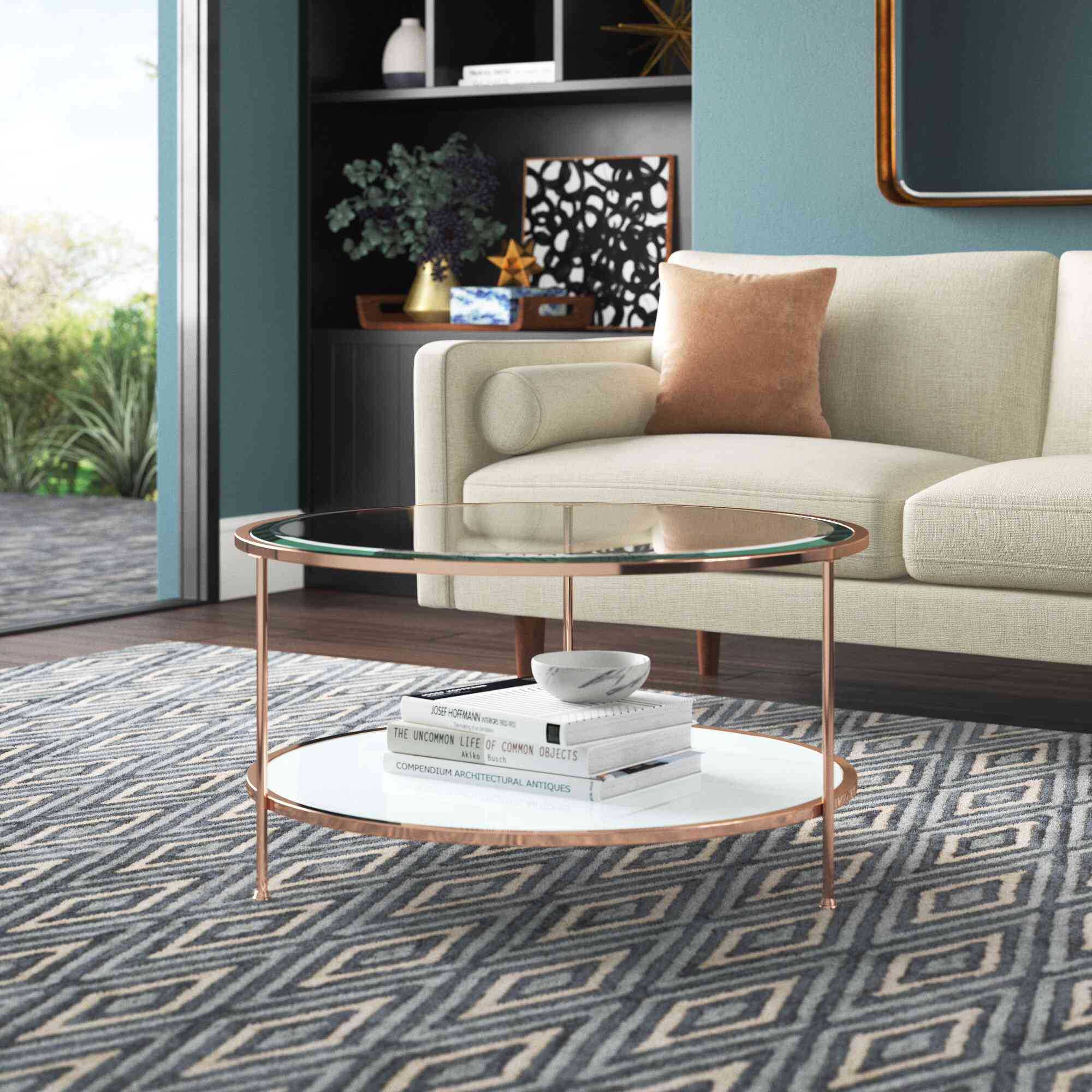 Mercury Row Schroeders 3 Legs Coffee Table with Storage