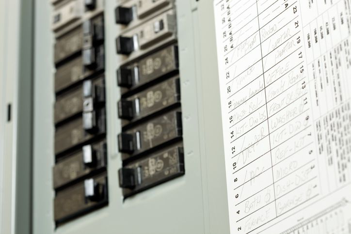 Marking Electrical Service Panel Circuit Breakers