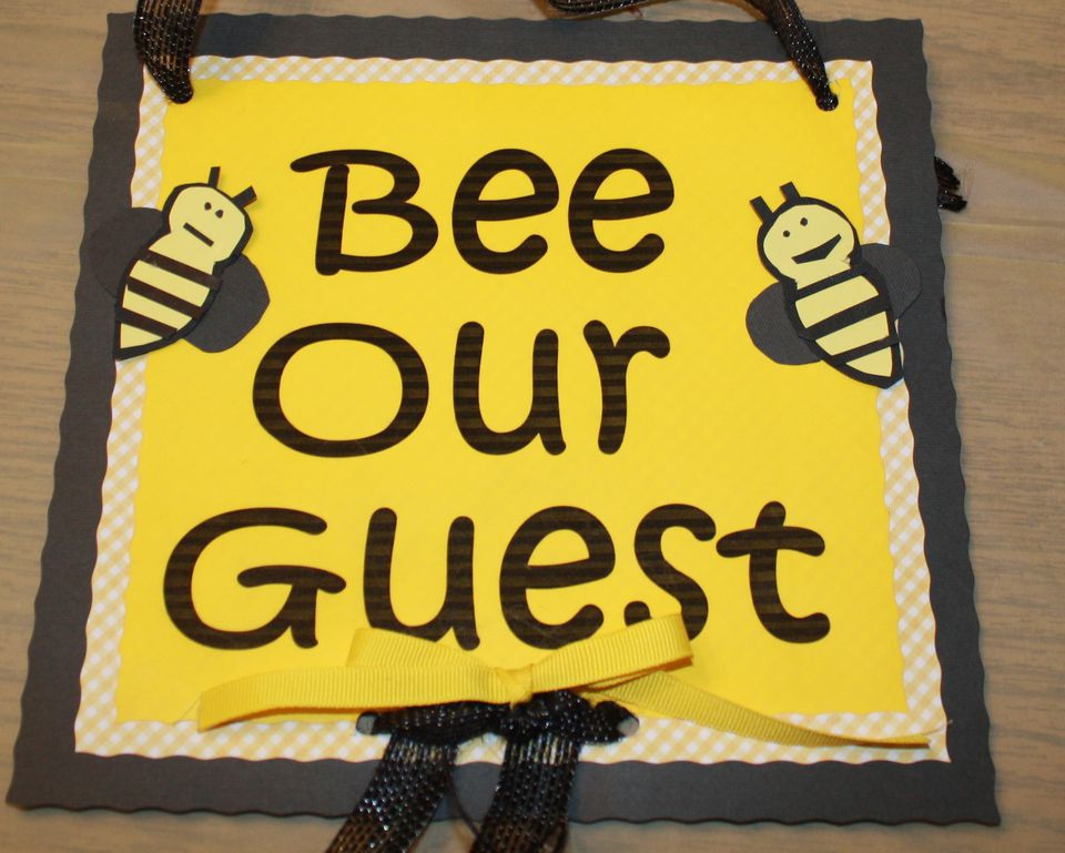 Bee Our Guest poster