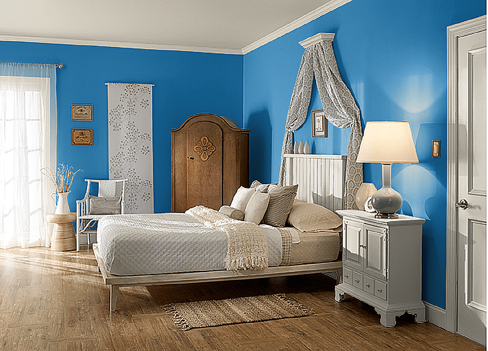 bedroom colors india the 10 best blue paint colors for the bedroom 10358