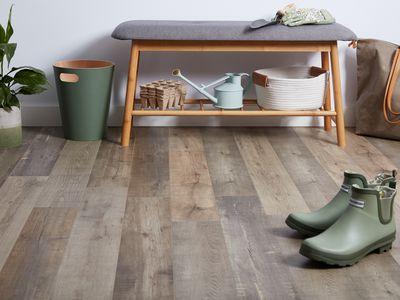 Home laminate floor