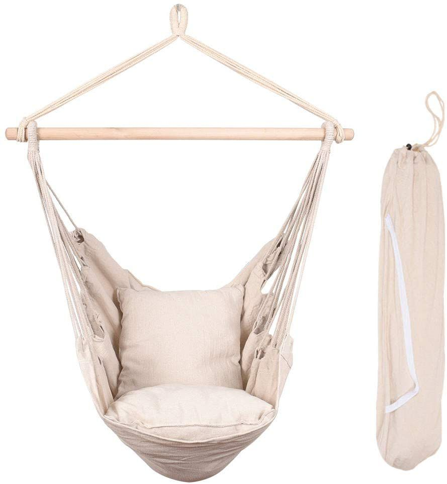 Lazy Daze Hanging Rope Hammock Chair