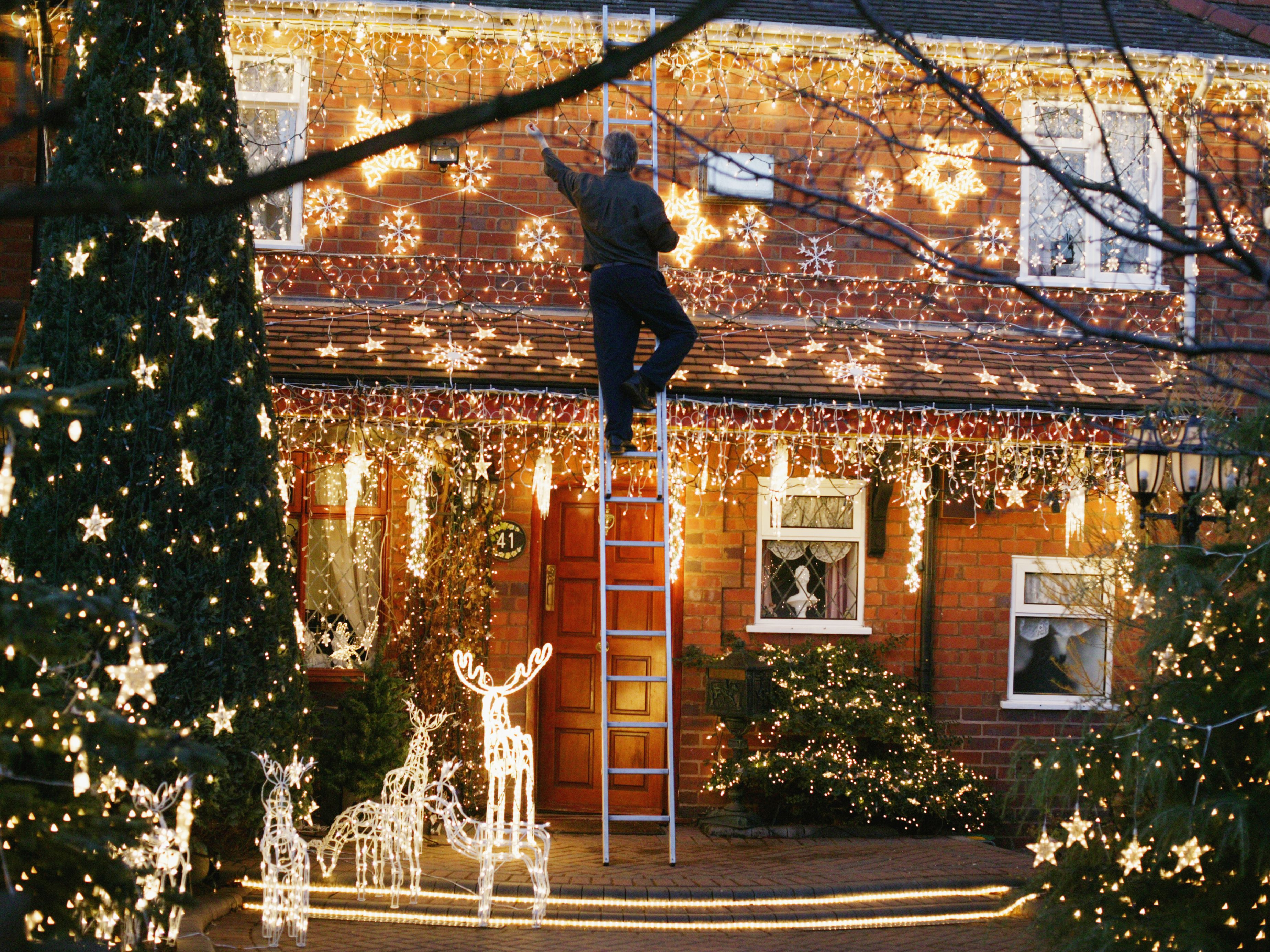 Christmas Light Installation Brooklyn Center MN