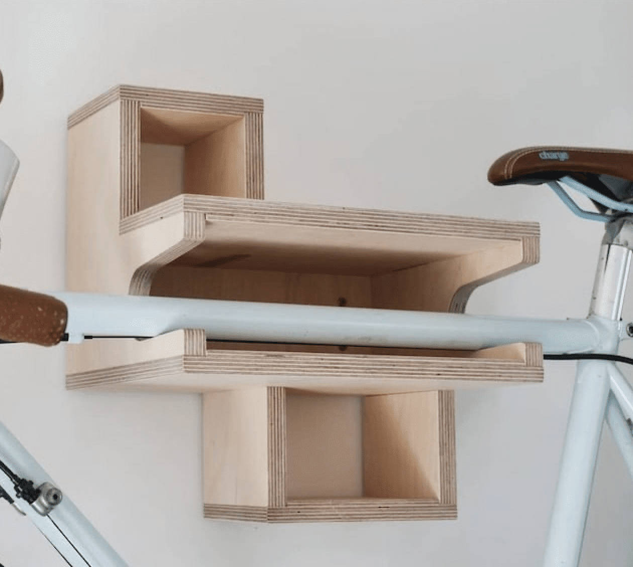 small wooden shelf used to