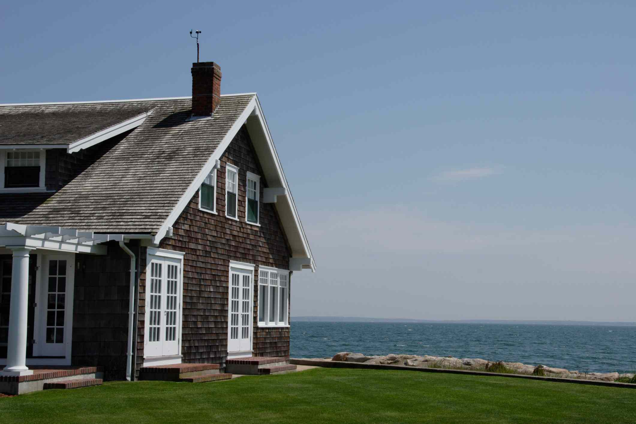 Traditional Cape Cod house