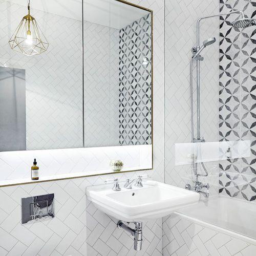 Monochrome style bathroom