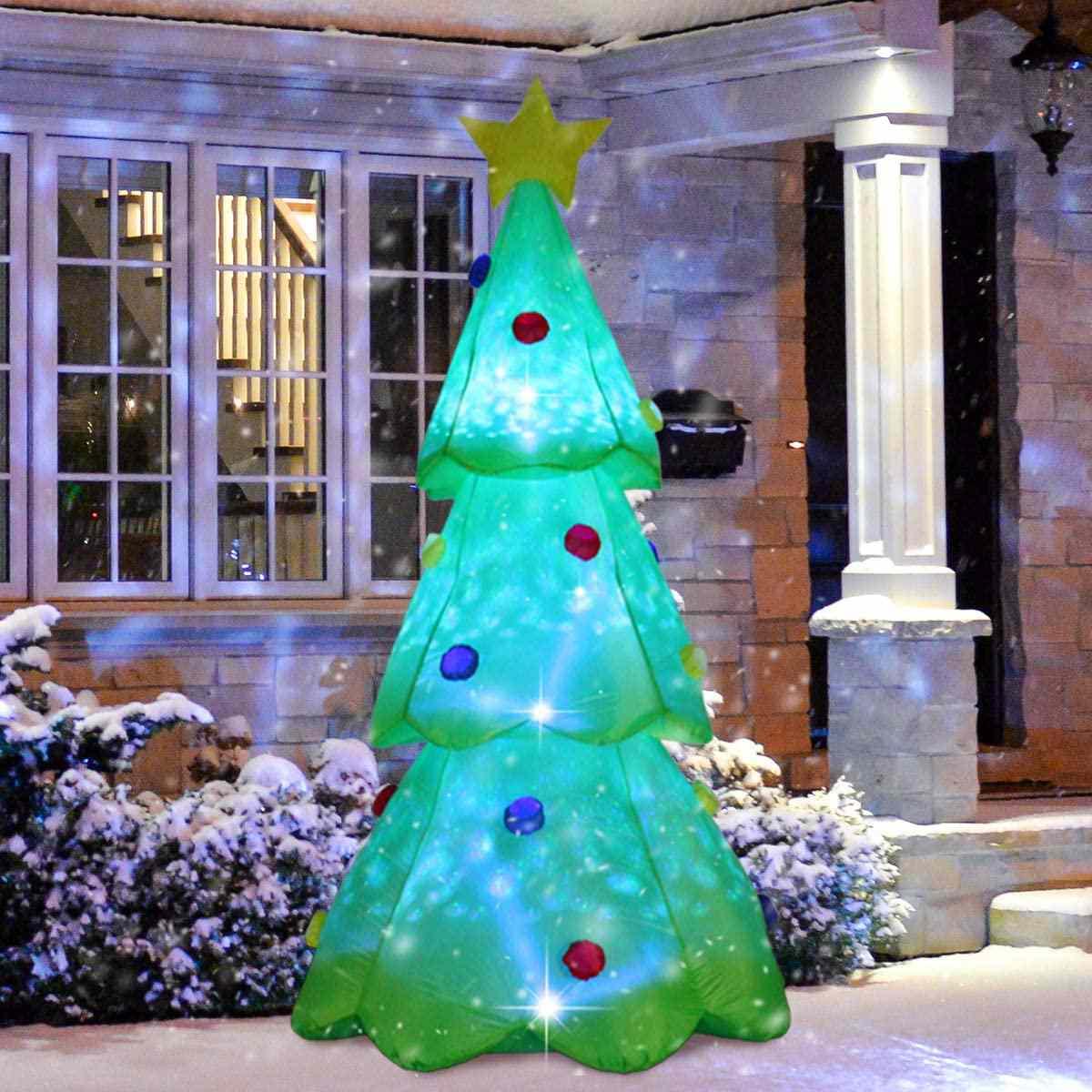 ShinyDec Inflatable Xmas Tree