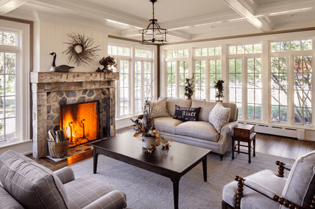 Cl Ic Farmhouse Style Living Room