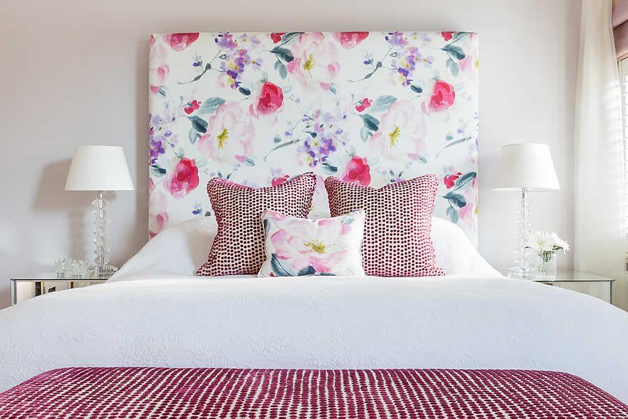 Floral Upholstered Headboards