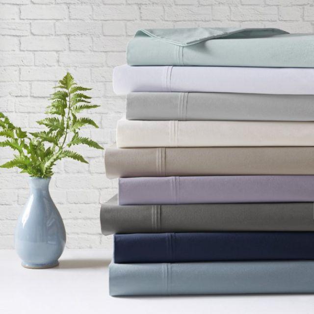 Comfort Classics Peached Percale Sheet Set