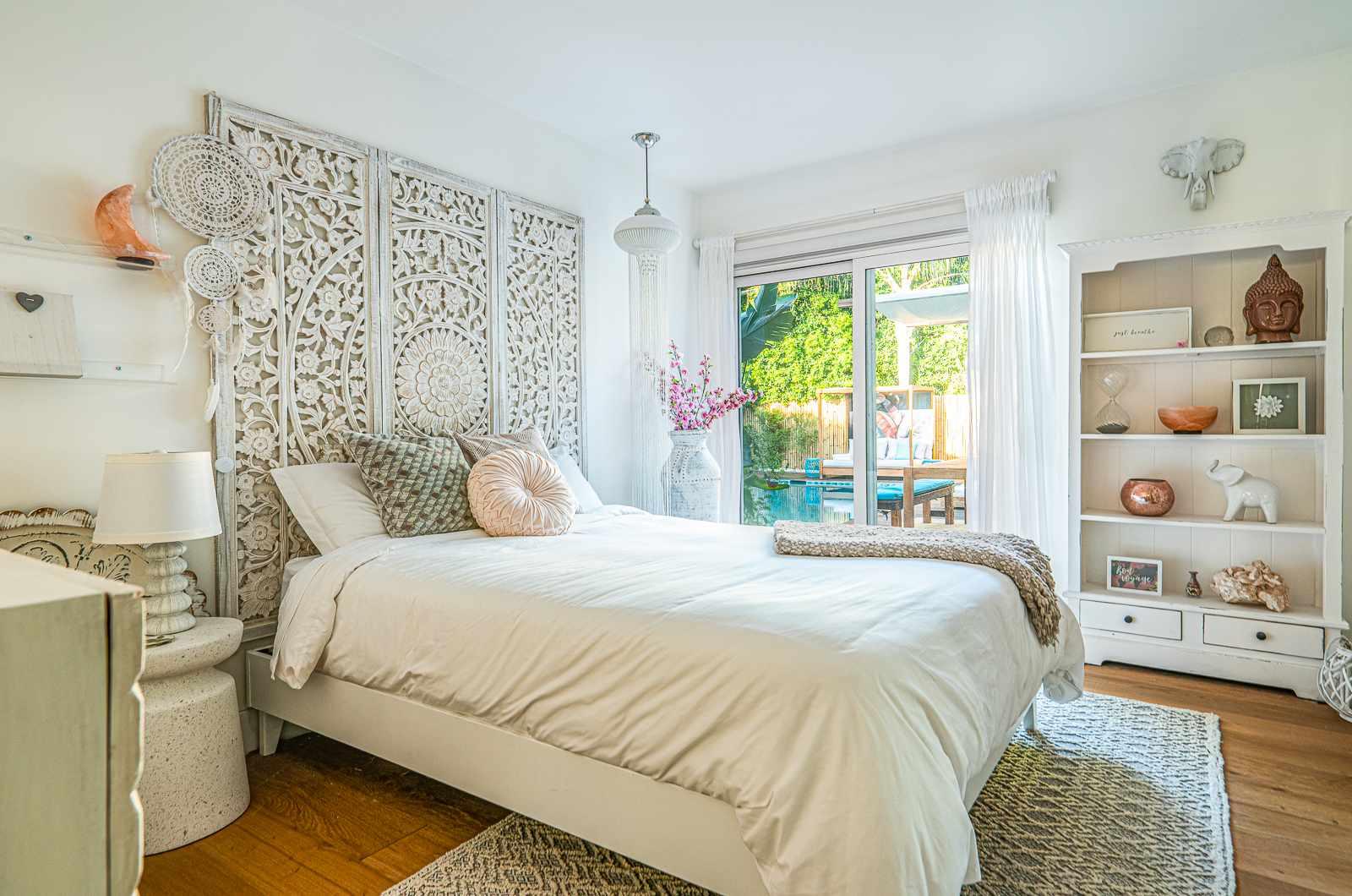White bedroom