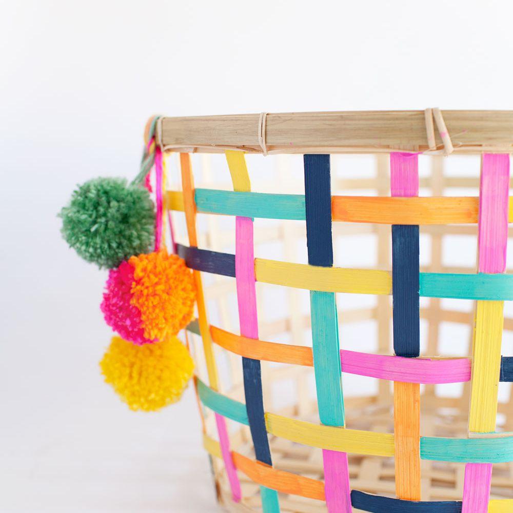 Colorful Toy Storage Basket