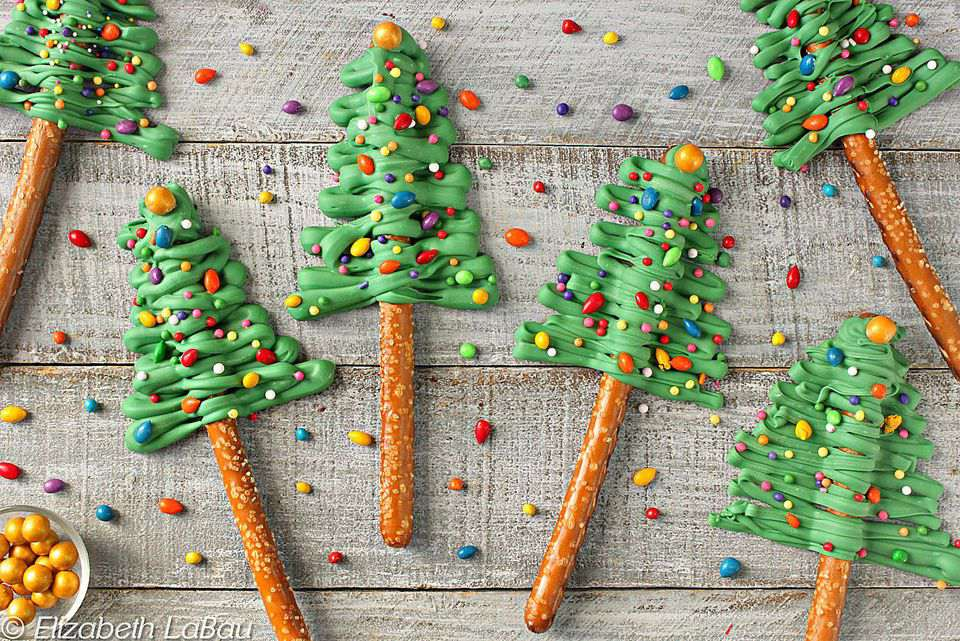 Tree inspired holiday recipes for tree trimming party