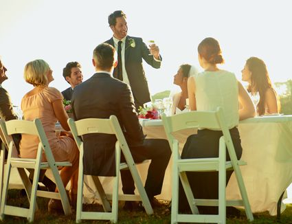 how to write and give a great wedding toast