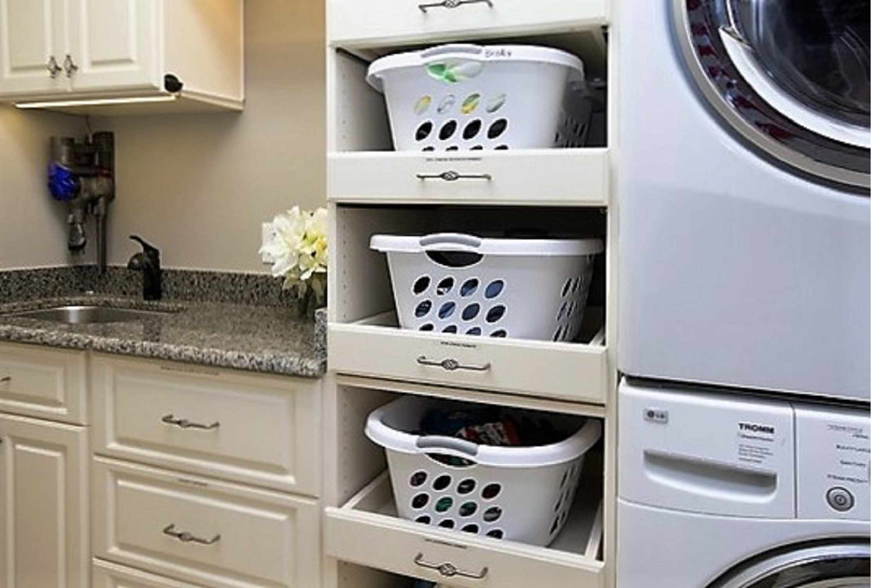Laundry Basket Shelves BIG