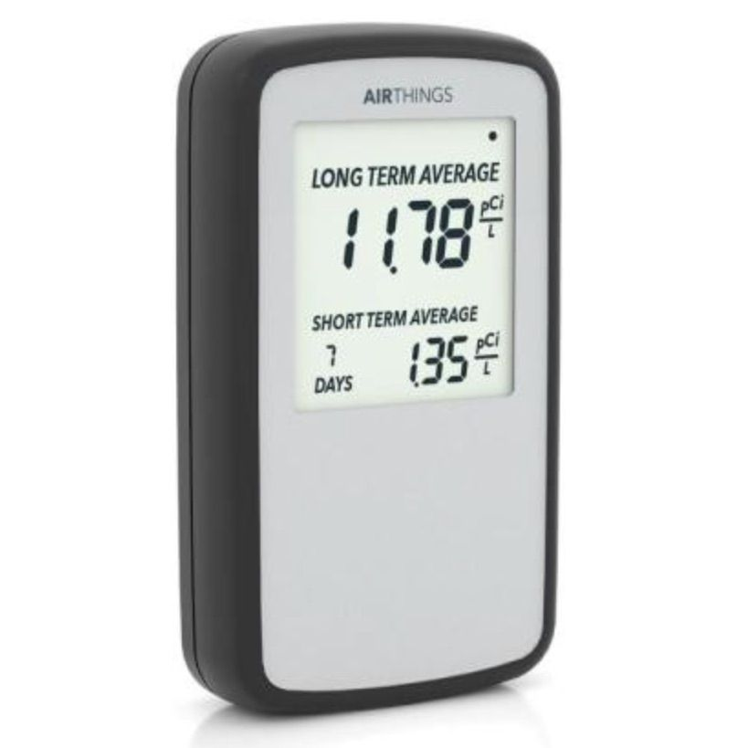 Corentium Home Battery Operated Digital Radon Detector