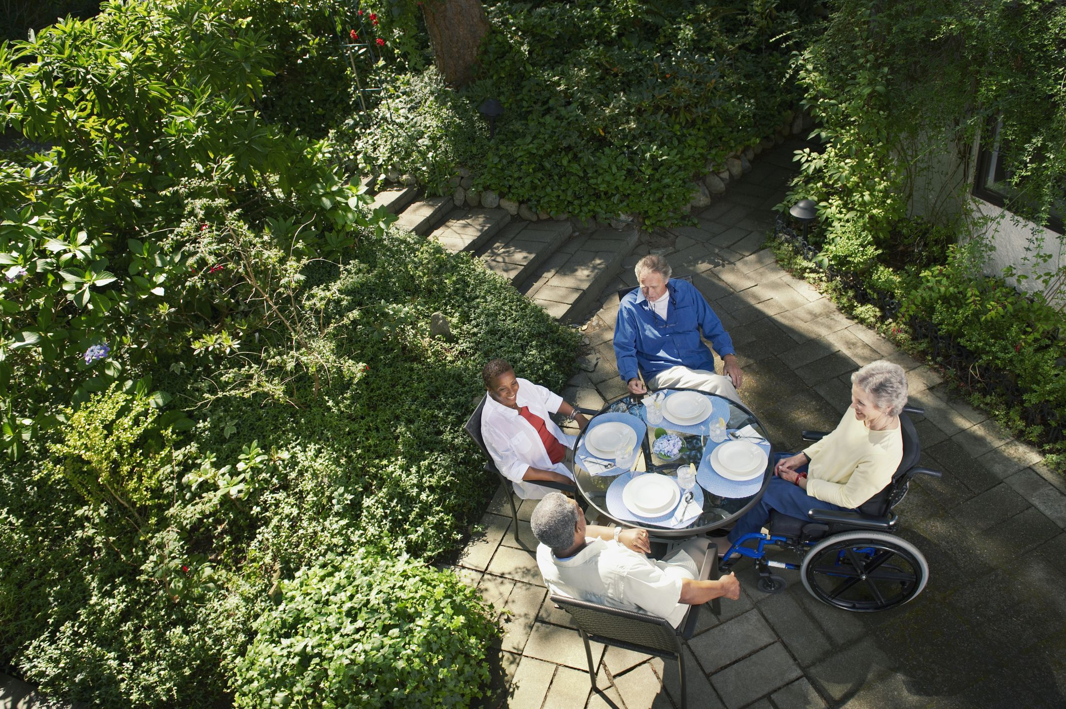 accessible outdoor dining