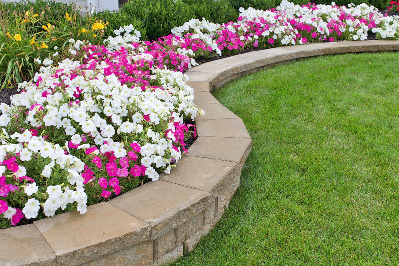 15 Garden Edging Ideas on Backyard Border Ideas id=80579