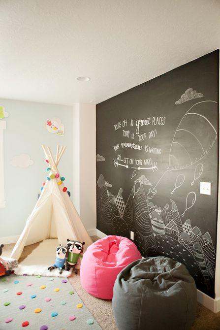 Chalkboard Mural
